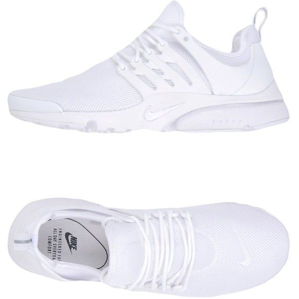 all white nikes